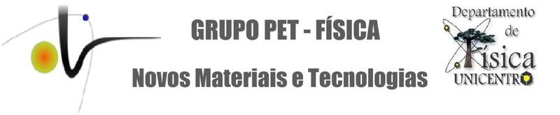 Grupo PET Física – UNICENTRO